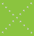 garlic x sparse pattern vector image vector image