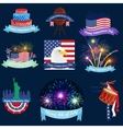 happy 4th july independence day design vector image vector image