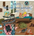 Happy new cell phone purchase day vector image vector image