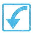 Rotate CCW Icon Rubber Stamp vector image