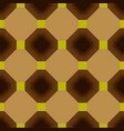 seamless geometrical pattern of squares vector image vector image