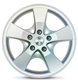 Wheel rim vector image