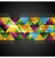 Abstract colorful corporate background vector image vector image