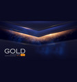 abstract geometric line background with gold vector image