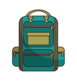 bag school supply icon vector image