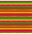 childish stryped background with zigzag and lines vector image