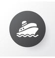 cruise icon symbol premium quality isolated vector image