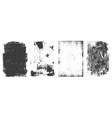 grunge rectangular frames vintage collection vector image vector image