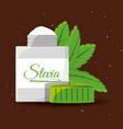 Stevia natural sweetener packet product