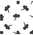 Thunderstorm pattern vector image