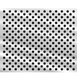 perforated metal background vector image