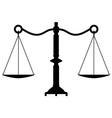 scales vector image