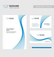 borchure design element with blue theme and vector image