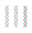 chemistry code dna double genetic code human vector image