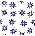 cute stars simple pattern nursery vector image