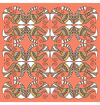 decorative fish pattern vector image vector image