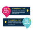 Did you know interesting fact label sticker