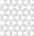 Gray dotted lines forming triangles and hexagons vector image vector image