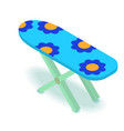 ironing board icon isometric 3d style vector image