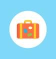 luggage icon sign symbol vector image vector image