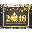 new year background for holiday greeting card vector image vector image