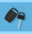 car key with remote control vector image