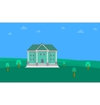Collection stock of house landscape vector image vector image