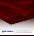 abstract paper art style layout template dark red vector image vector image