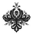 damask ornament vector image vector image