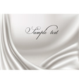 Elegant white silk texture vector | Price: 1 Credit (USD $1)