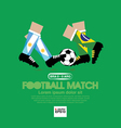 Football Match EPS10 vector image