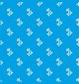 natural bamboo pattern seamless blue vector image