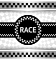Race new backdrop vector image vector image