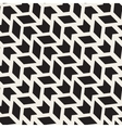 Seamless Arrow Shape ZigZag Geometric Grid vector image