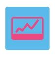 Stock Market icon vector image vector image