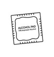 alcohol wipes icon antibacterial formula