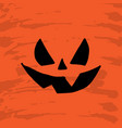 art card for happy halloweendesign template for vector image