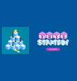 business strategy banner vector image