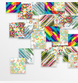 colorful template background vector image vector image
