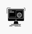 Command computer function process progress glyph