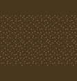 dark chocolate background polka dots seamless vector image vector image