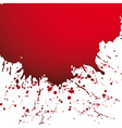 drop ink splatter vector image vector image