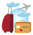 holiday travel or color vector image