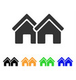 houses icon vector image vector image