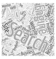 JP PPC search engine advertising Word Cloud vector image vector image