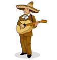 Mexican Musician vector image
