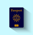 Passport Flat Design vector image