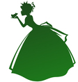 princess and the frog vector image vector image
