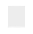 Realistic blank card for design Template greeting vector image vector image