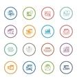 Shopping and Marketing Icons Set vector image